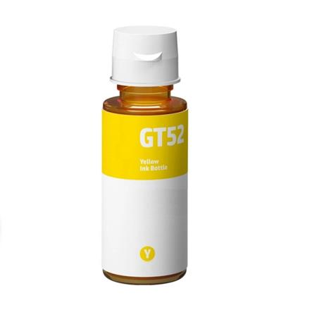 HP GT52Y Yellow Remanufactured Ink Bottle