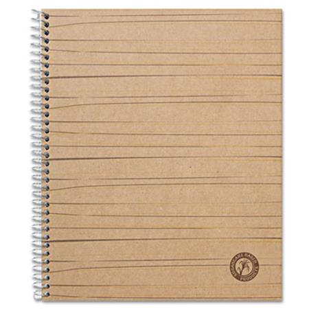 Sugarcane Based Notebook College Rule 11 x 8 1/2 White 100 Sheets/Pad