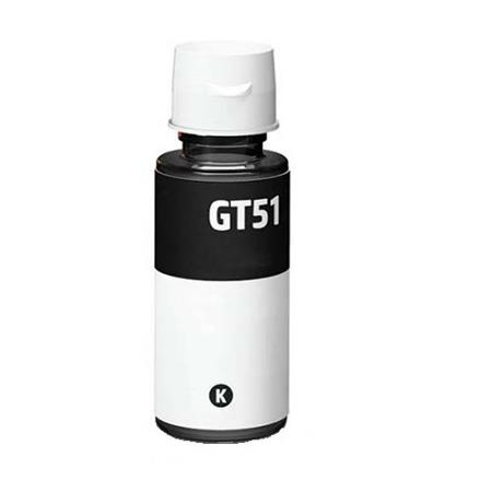 HP GT51BK Black Remanufactured Ink Bottle