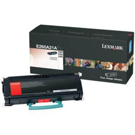 Lexmark E260A21A Black Original Laser Toner Cartridge