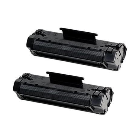 Compatible Twin Pack HP 06A Black Toner Cartridges