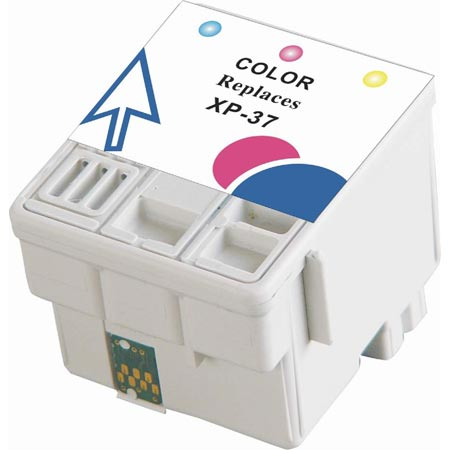 Compatible Color Epson T037 Ink Cartridge (Replaces Epson T037020)