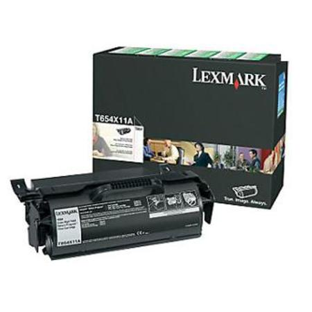 Lexmark T654X11A / T654X21A Black Original Extra High Yield Return Program Toner Cartridge