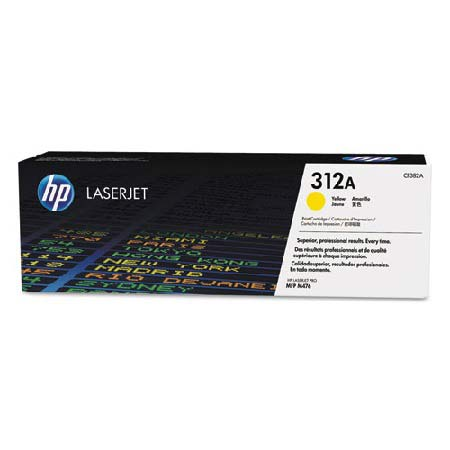 HP 312A Yellow Original Toner Cartridge (CF382A)