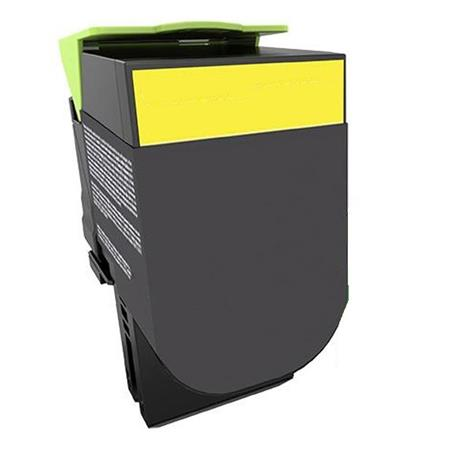 Compatible Yellow Lexmark 71B1HY0 High Yield Toner Cartridge