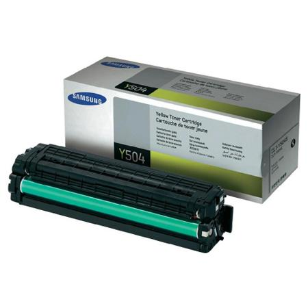 Samsung CLT-Y504S Yellow Original Toner Cartridge