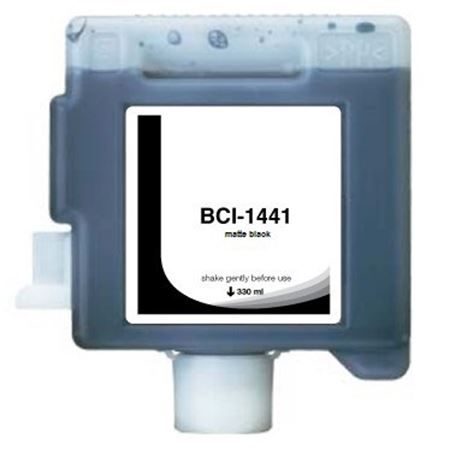 Compatible MatteBlack Canon BCI-1441MBK Ink Cartridge (Replaces Canon 0175B001AA)