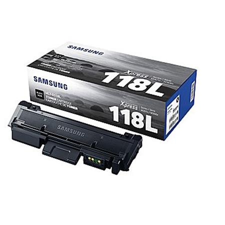 Samsung MLT-D118L Black Original High Capacity Toner Cartridge