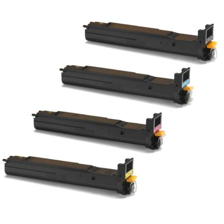 Clickinks 106R01316/9 Full Set Remanufactured Toner Cartridges