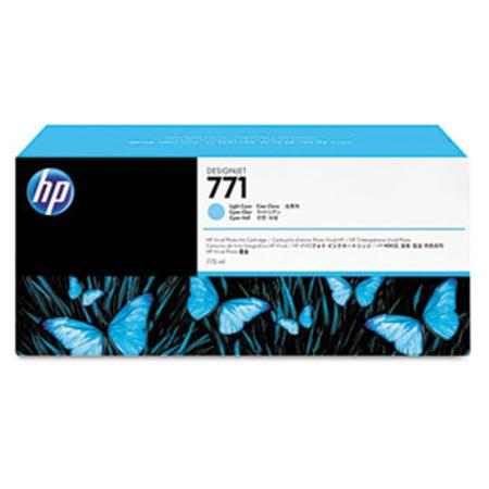 HP 771 (CR255A) Original Light Cyan Inkjet Cartridge - 3  PACK