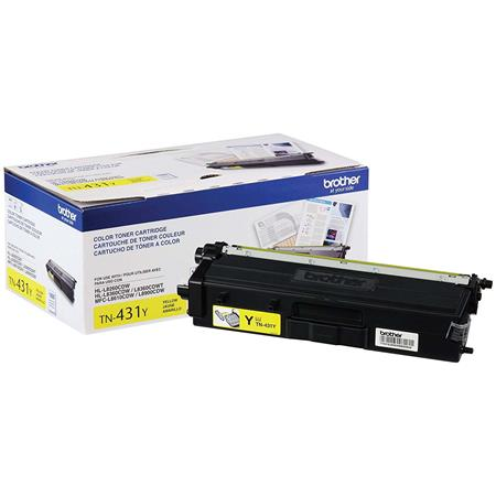 Brother TN431Y Yellow Original Standard Capacity Toner Cartridge