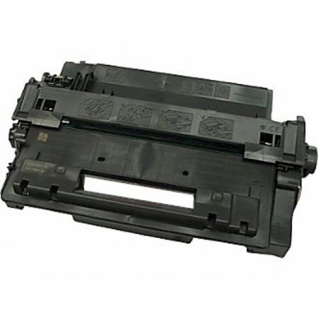 Compatible Black HP 55X High Yield Toner Cartridge (Replaces HP CE255XMICR) - Made in USA