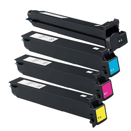 TN613 K/C/M/Y Full Set Remanufactured Toner Cartridges