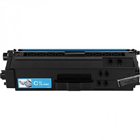 Brother TN336C Cyan Remanufactured High Capacity Toner Cartridge