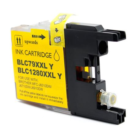 Brother LC79Y Yellow Compatible Extra High Yield Ink Cartridge