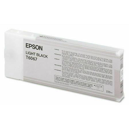 Epson T6067 Remanufactured Light Black Ink Cartridge