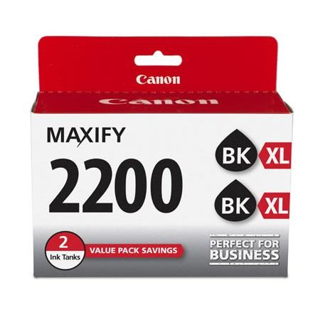 Canon PGI-2200XL (9255B006) Black Original High Capacity Ink Cartridge Twin Pack