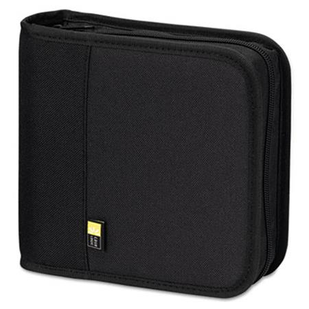 Case Logic CD/DVD Expandable Binder  Holds 24 Disks  Black