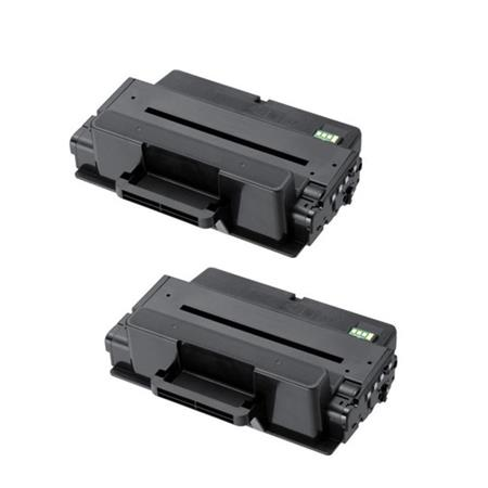 Compatible Twin Pack Black Samsung MLT-D205E Toner Cartridges