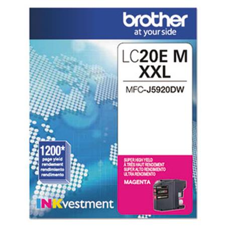 Brother LC20EM Magenta Original Print Cartridge
