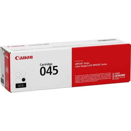 Canon 045 (1242C001) Black Original Standard Capacity Toner Cartridge