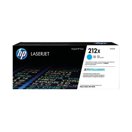 HP 212X (W2121X) Cyan Original High Yield Toner Cartridge