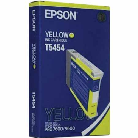 Epson T5454 Yellow Original Ink Cartridge