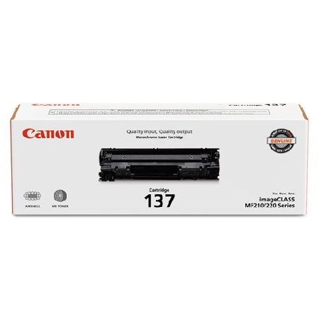 Canon 137 Black Original Toner Cartridge (9435B001)