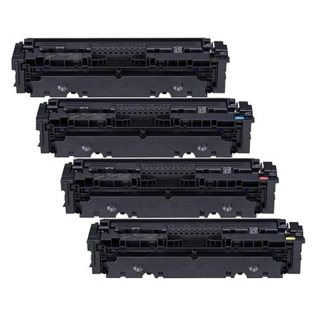 Canon 046BK/C/M/Y Full Set Remanufactured Standard Capacity Toner Cartridges