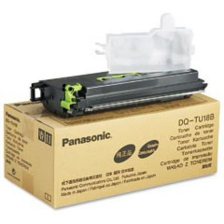 Panasonic DQTU18B  Black Original Toner Cartridge