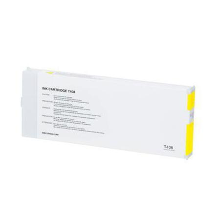 Epson T408011 (T408) Yellow Remanufactured Ink Cartridge