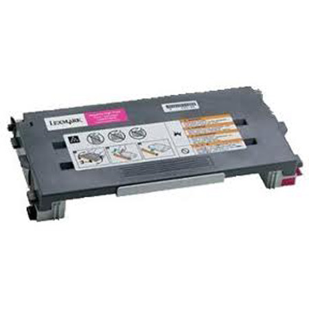 Lexmark C500 Magenta Remanufactured High Yield Toner Cartridge