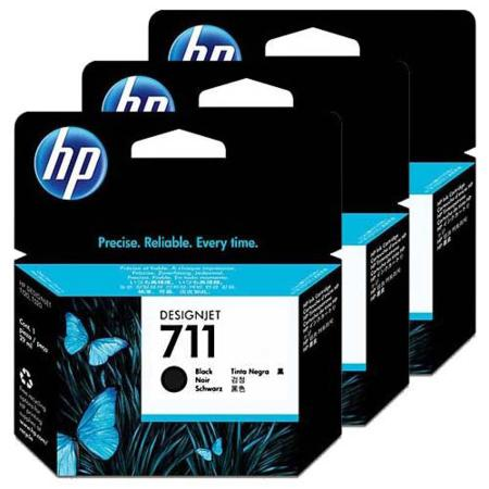 HP 711 Black Original High Capacity Ink Cartridge (80ml)