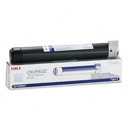 OKI 52109001 Original Black Toner Cartridge