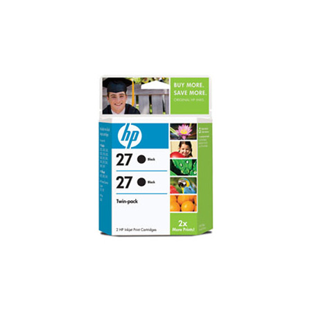 HP 27 Twinpack Original Cartridge (C9322FN)