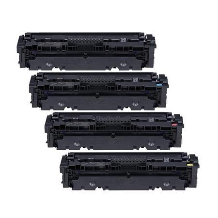 Compatible Multipack Canon 054BK/C/M/Y Full Set Toner Cartridges