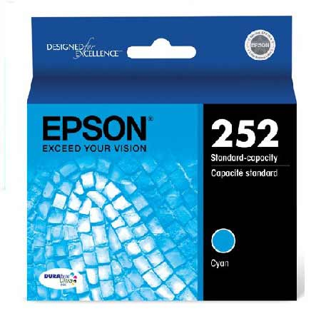 Epson T252220 Original Standard Capacity Cyan Ink Cartridge