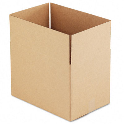 Corrugated Kraft Fixed-Depth Shipping Carton 12w x 18l x 12h Brown 25/Bundle