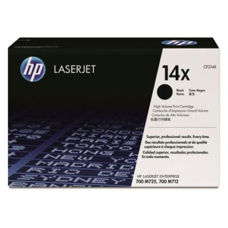HP 14X Black Original High Capacity Toner Cartridge (CF214X)