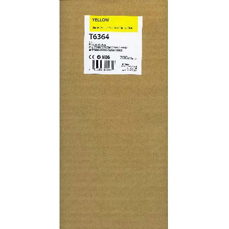 Epson T6364 (T636400) Original  Yellow Ink Cartridge