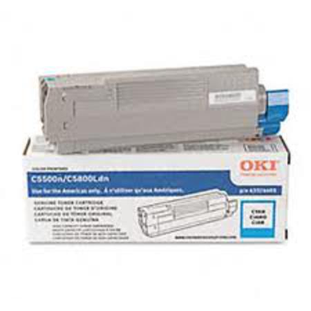 OKI 43324403 Cyan Original High Capacity Toner Cartridge