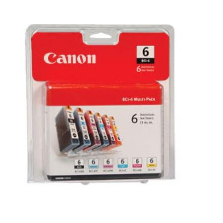 Canon BCI-6 Black and Tri-Color Original Ink Cartridge