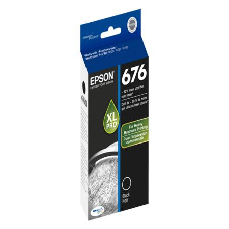 Epson T676XL (T676XL120) High Capacity Original Black Ink Cartridge