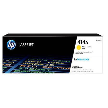 HP 414A (W2022A) Yellow Original Standard Capacity Toner Cartridge