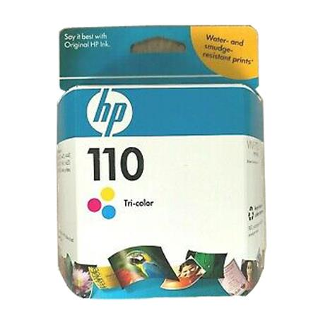 HP 110 Tri Color Original Inkjet Print Cartridge With Vivera Inks CB304AN
