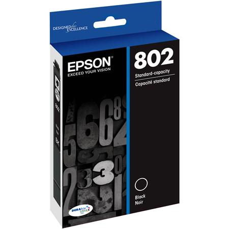 Epson T802 Black Original Standard Capacity Ink Cartridge
