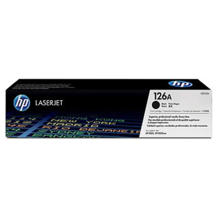 HP 126A Black Original Toner Cartridge (CE310A)