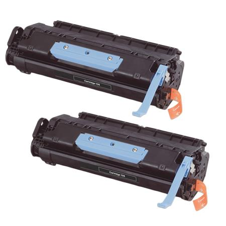 106K Black Remanufactured Toner Cartridges Twin Pack