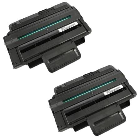 400394 Black Remanufactured Toner Cartridge Twin Pack