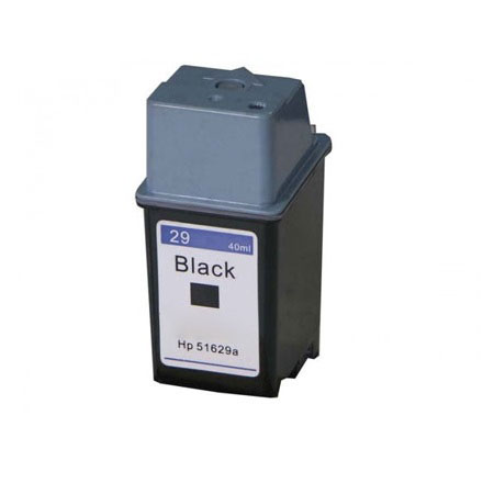 HP 29 Black Remanufactured Printer Ink Cartridge (51629A)